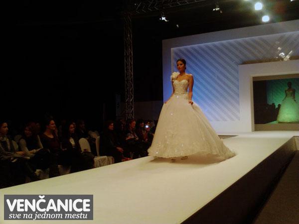 Modna revija sajam vjencanja 2012