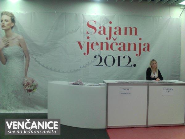 Sajam vjencanja 2012