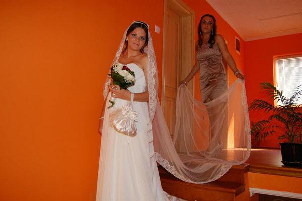 Nataša Zorić u venčanici