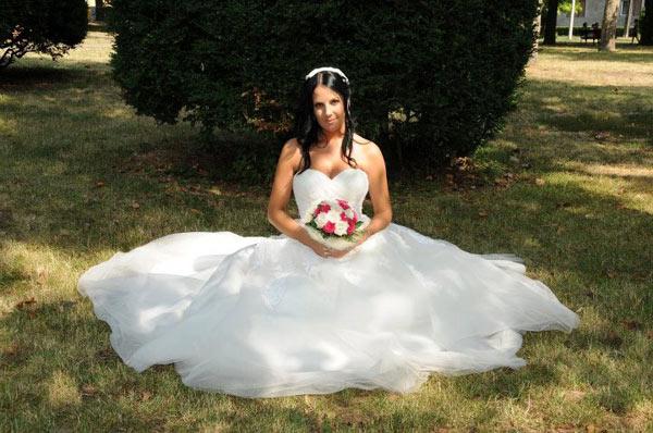 Vanja Vukosavljević u venčanici