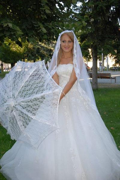 Sanja u vencanici Pronovias