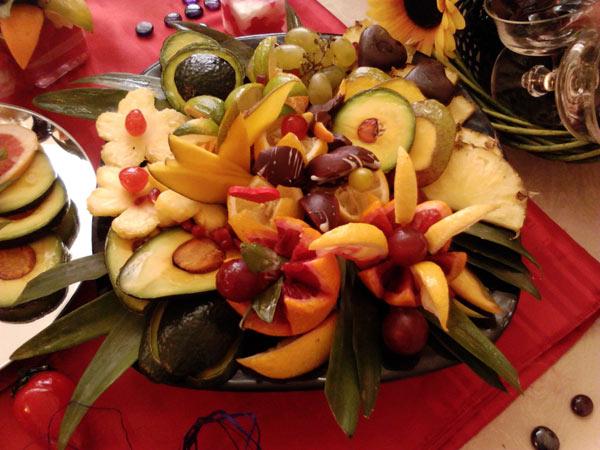 Dekoracija voćem
