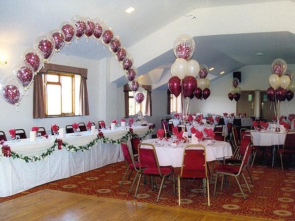 dekoracija balonima - vencanje